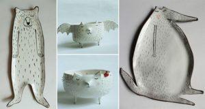 Clay Opera Animal Ceramics