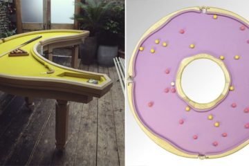 Cleon Daniel Handmade Banana Donut Pool Tables