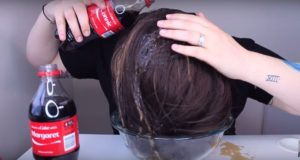 Coca Cola On Hair Tip