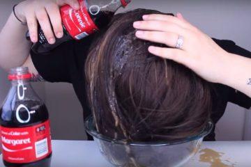 Coca Cola On Hair Tip