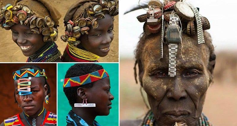 Eric Lafforgue Ethiopian Tribes Fashion