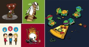 Flyingmouse365 Pop Culture Characters Funny Situations