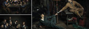 Freddy Fabris Mechanics Recreating Famous Poses
