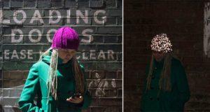 Glowing Knitted Hat Kickstarter