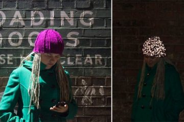Glowing Knitted Hat Kickstarter
