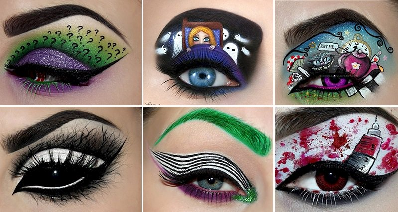 10 Creepy Eye Makeup Designs Are Perfect For Halloween