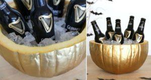 Halloween Pumpkin Drinks Cooler