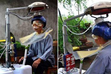 Hands-Free Hair Washing Machine