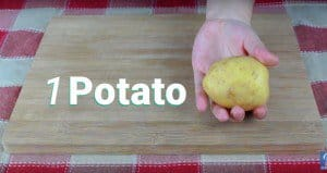 How To Peel A Potato Quickly