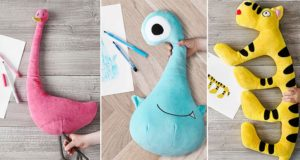 IKEA Charity Children's Doodles Plushies