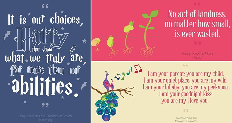 these 16 inspirational quotes are from children 39 s literature