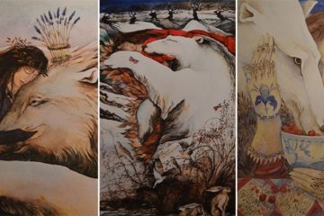 Jackie Morris Paintings Of Bears