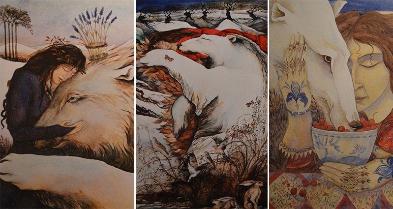 Jackie Morris Paintings Of Bears