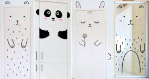 Made of Sundays Door Stickers Animals