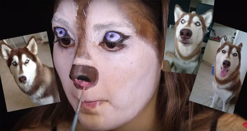 This Makeup Tutorial For Dog-Lovers Is A Must Do For Halloween