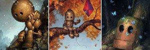 Matt Dixon Lonely Robots Art