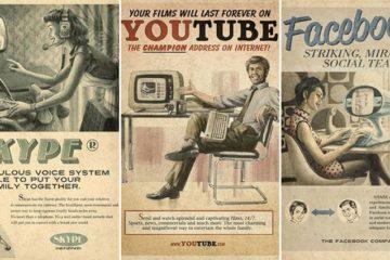 MaxiMidia Social Media 1950s Posters