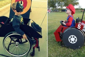 Mom Creates Halloween Costumes For Son's Wheelchair