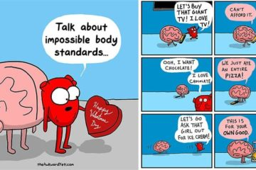 Nick Seluk Battle Between Heart And Brain