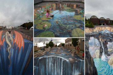 Optical Illusions Street Art