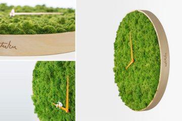 Paul Noktuku Moss Clock
