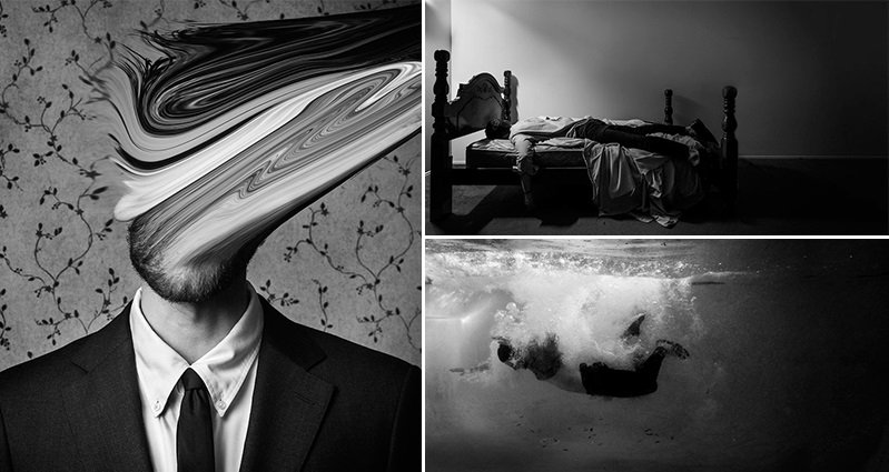 photographer edward honaker turns depression into something you can truly see. Black Bedroom Furniture Sets. Home Design Ideas