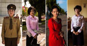 Photographs North Korea Women Mihaela Noroc