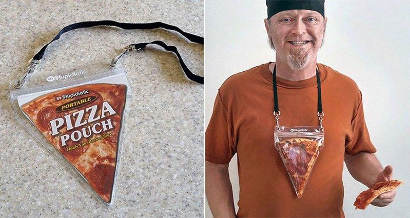 Portable Pizza Necklace
