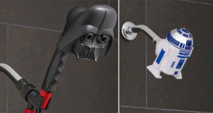 Star Wars Shower Heads