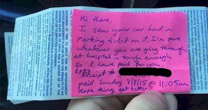 Stranger Pays Hospital Parking Ticket