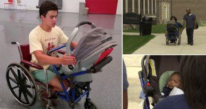 Stroller Wheelchair Invented Alden Kain