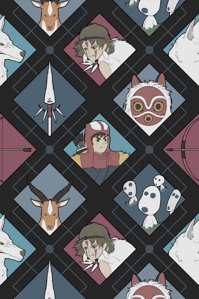 Studi-Ghibli-tops-mononoke-print