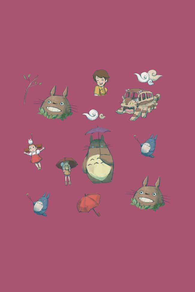 Studi-Ghibli-tops-totoro-print