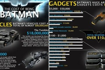 The Cost Of Being Batman