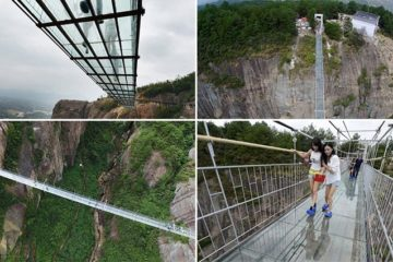 World's Longest Glass Bridge China