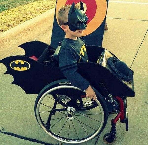 batman wheelchair costume