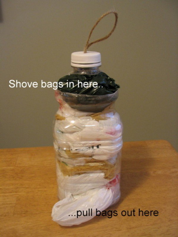 bottle bag holder