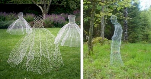 chicken wire figures