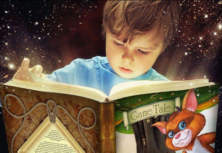 child magical book