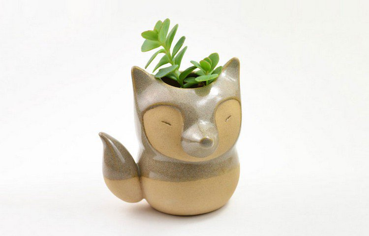 cute animal planter