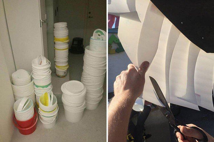cutting buckets