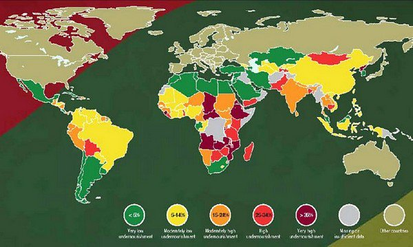 developing countries map