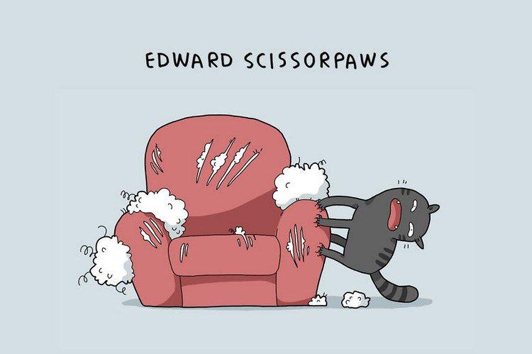 edward scissorpaws