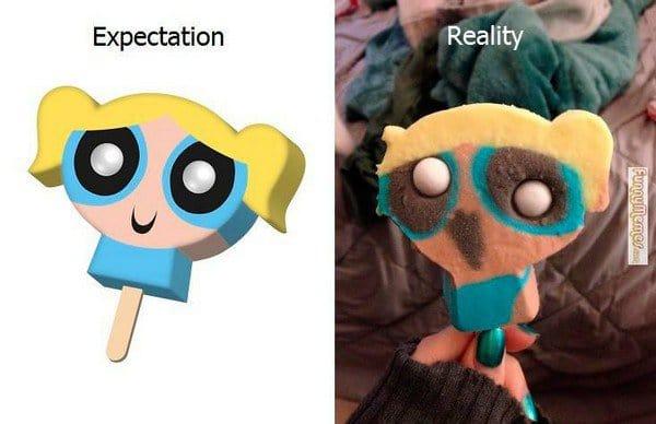 expectation reality