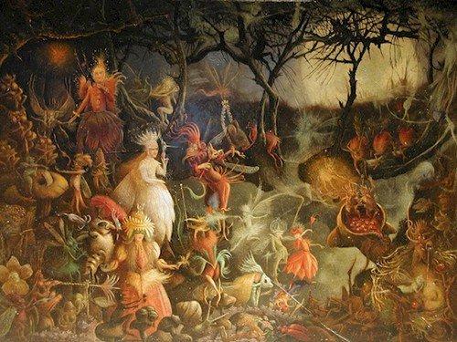 fairy devil painting