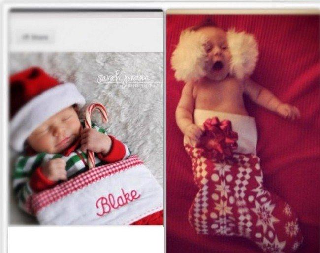 festive babies