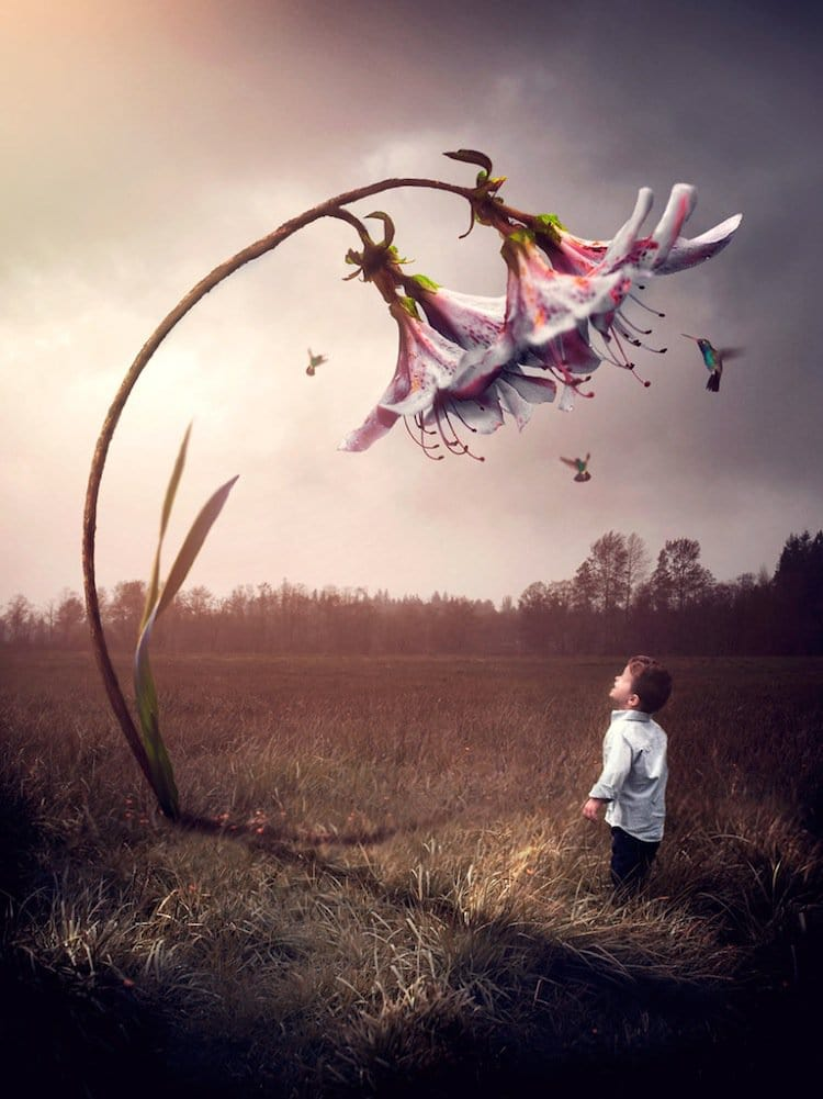 Surreal And Beautiful Photographs Of Children By Gabe Tomoiaga Old Age Funny