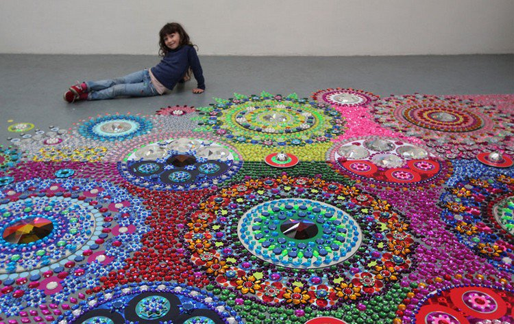 girl mandala art