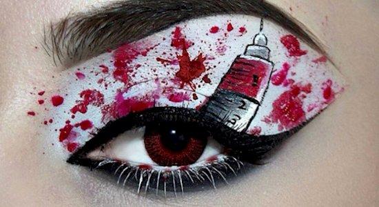 halloween-makeup-blood