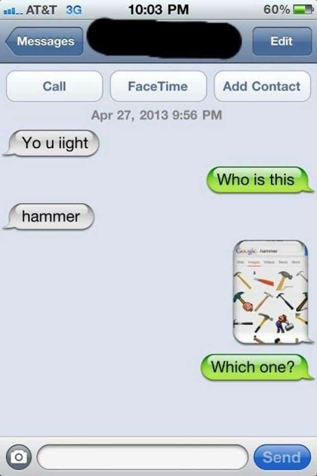 hammer text